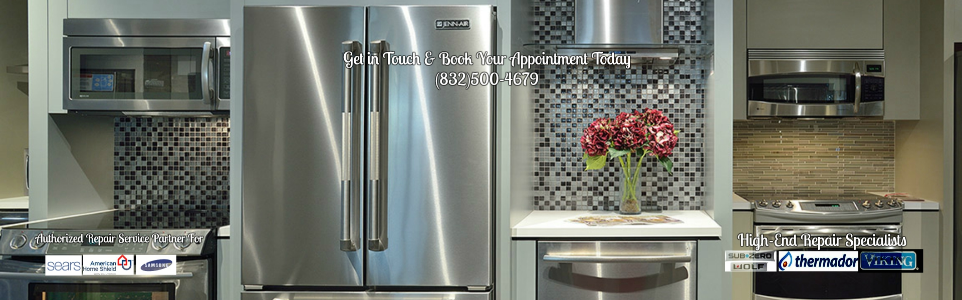 Houston Refrigerator-Freezer-Ice Maker Repair
